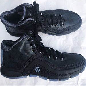 adidas Shoes - Adidas SM J WALL 2 BLACK ICE Shoes  AQ7737 SZ 14